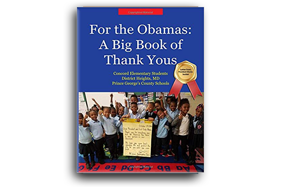 For the Obamas: A Big Book of Thank Yous